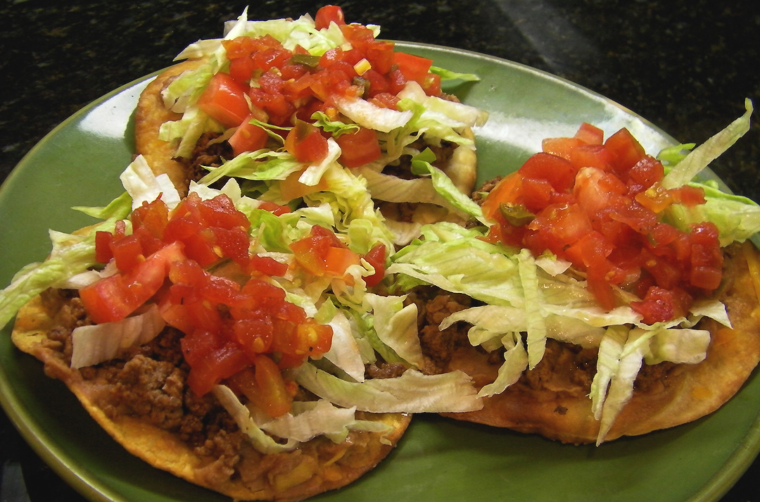 Beef Tostadas Recipe — Dishmaps