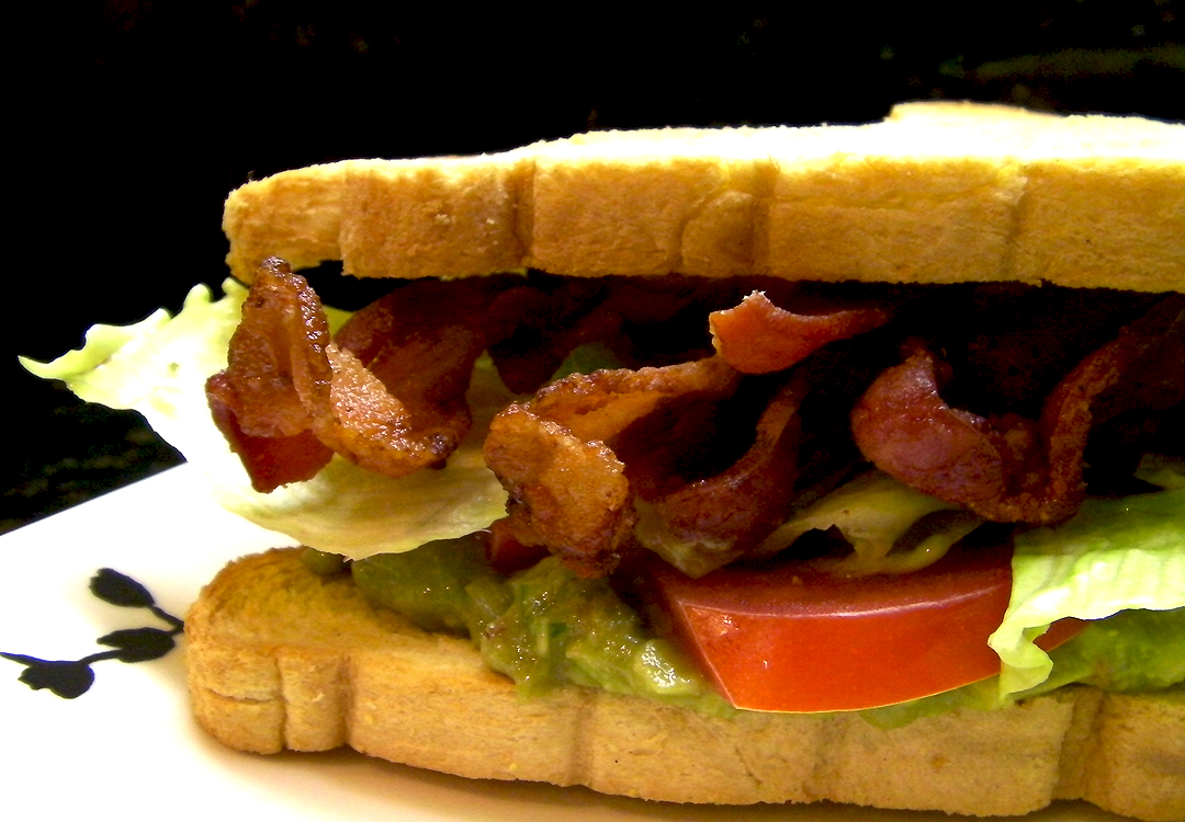 Lettuce Tomato Sandwich Blast ( bacon , lettuce , avocado, shrimp ...