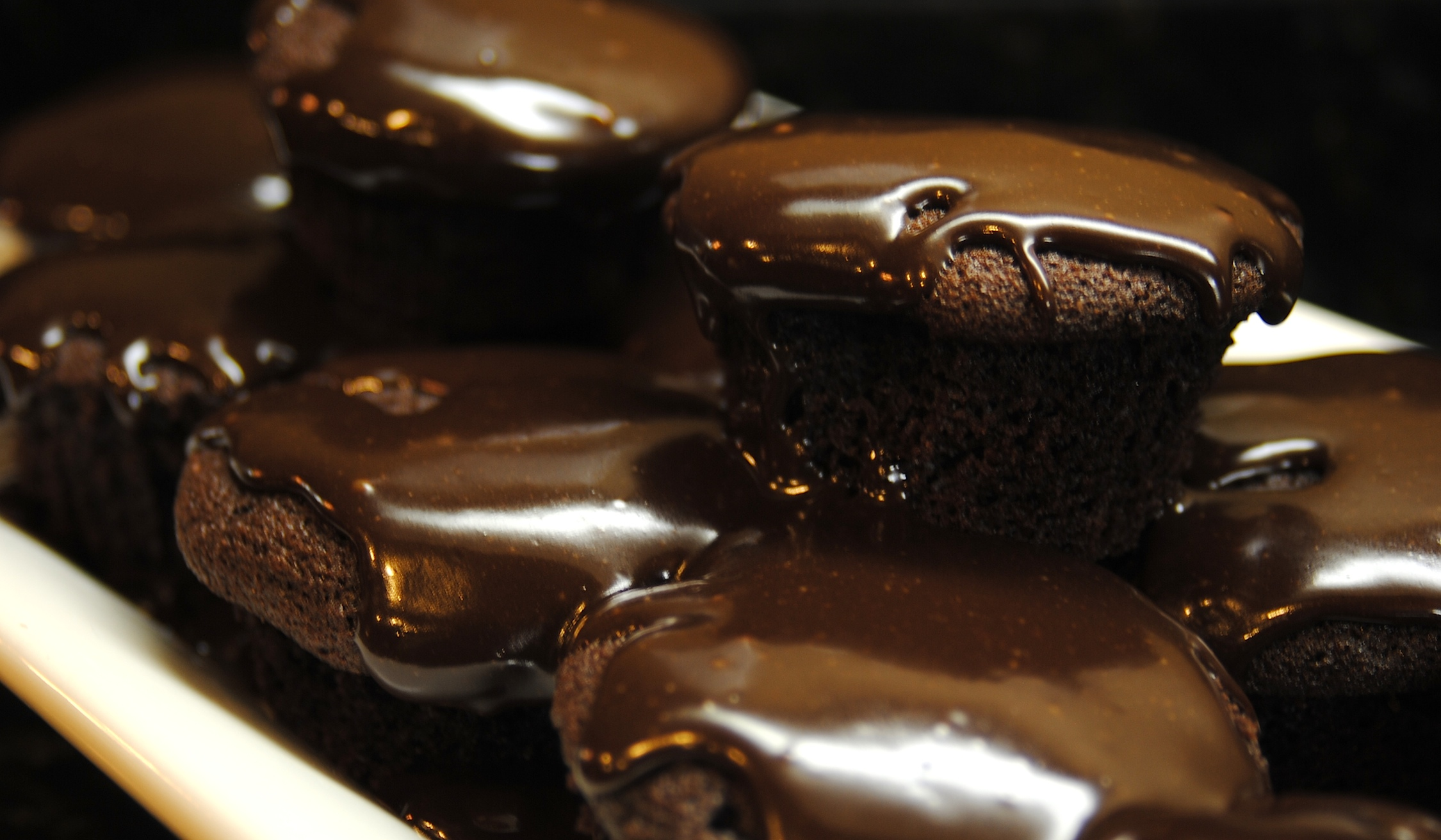 Chocolate Stout Cupcakes with Chocolate Glaze