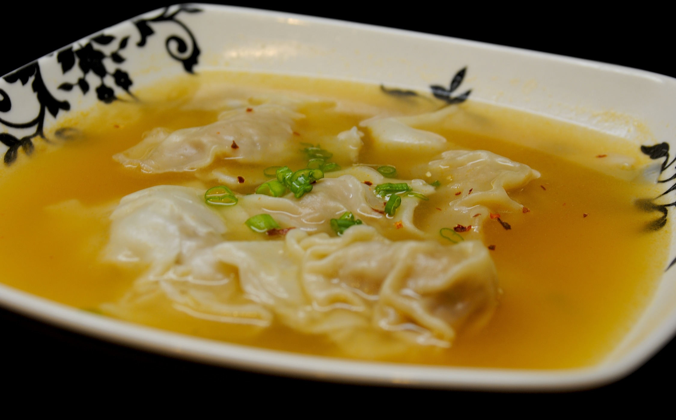 $10 buck dinners! » Blog Archive Won Ton Soup and Fried ...